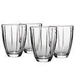 Noritake® Colorwave Glassware Tumblers in Clear (Set of 4)