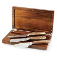 Legacy Heritage Collection by Fabio Viviani Tridente Cheese Tools in Acacia Box (Set of 3)
