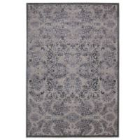 Nourison Graphic Illusions GIL05 5-Foot 3-Inch x 7-Foot 5-Inch Area Rug in Grey