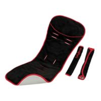 LulyBoo® Comfy Ride Reversible Seat Liner and Strap Cover Set in Cherry