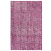 Surya Frisia 2-Foot x 3-Foot Accent Rug in Plum