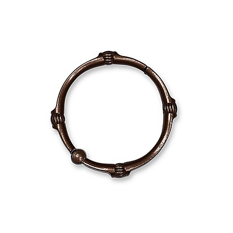 Buy Titan Neverrust Madison Shower Curtain Rings In Oil Rubbed Bronze Set Of 12 From Bed Bath