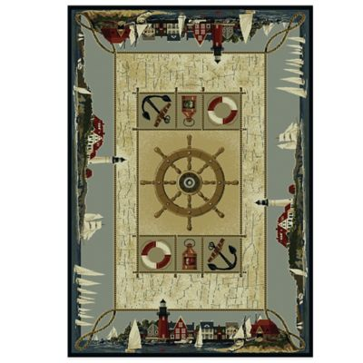 Buy Nautical Rugs from Bed Bath Beyond