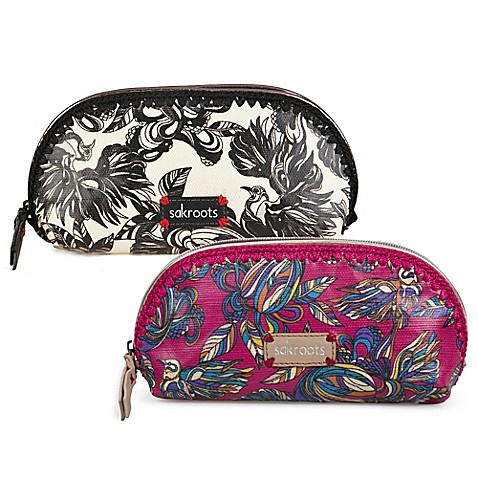 Sakroots Artist Circle Small Dome Cosmetic Bag Bed Bath