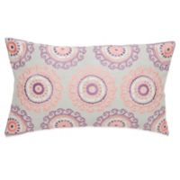 "Under the Canopy® Goddess ""I Am"" Organic Cotton Oblong Throw Pillow"