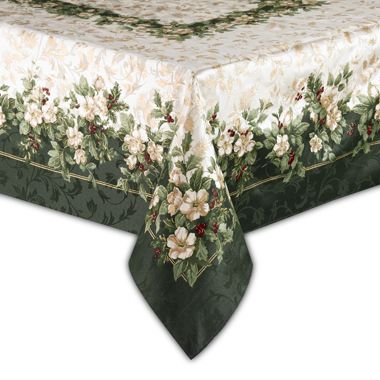 Joyous Holiday 70 Inch Round Tablecloth