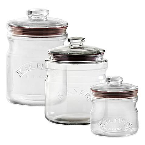 Kilner 174 Push Top Glass Storage Jar Bed Bath Amp Beyond