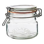 Kilner® 17 oz. Square Clip Top Canning Jar