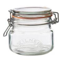 Kilner® 17 oz. Square Clip Top Canning Jar