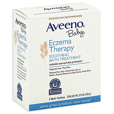 Aveeno 174 Baby 174 5 Count Eczema Therapy Soothing Bath Packs