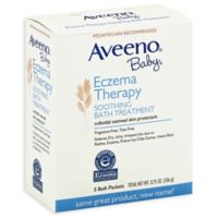 Aveeno® Baby® 5-Count Eczema Therapy Soothing Bath Packs