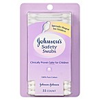 Johnson & Johnson® 55-Count Cotton Swabs