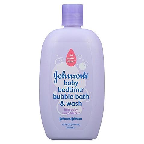 Johnson Johnson Baby Bedtime 15 Oz Bubble Bath Wash Buybuy BABY