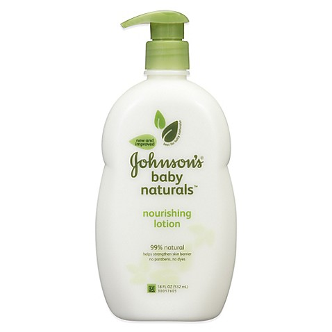 Johnson S 174 Baby Naturals 18 Oz Nourishing Lotion Bed