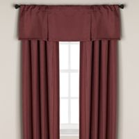 Bridgeport Rod Pocket/Back Tab 63-Inch Blackout Lining Window Curtain Panel in Berry