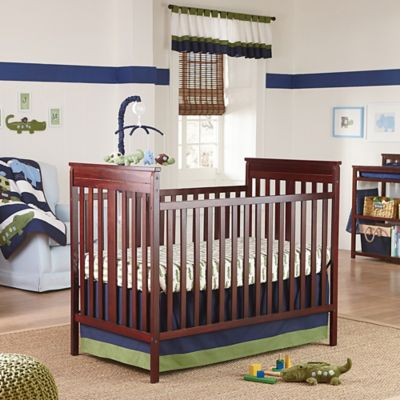 NoJoR Alligator Blues Crib Bedding Collection 4 Piece