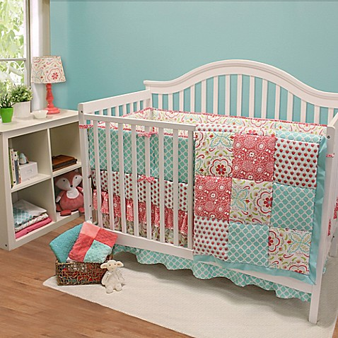 The Peanut Shell 174 Gia Crib Bedding Collection Bed Bath
