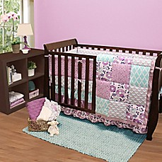 The Peanut Shell® Zoe Crib Bedding Collection