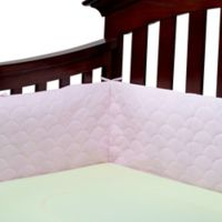 Ubimed® Lifenest™ Breathable Padded Mesh Crib Bumper in Pink