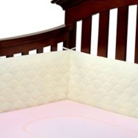 Ubimed® Lifenest™ Breathable Padded Mesh Crib Bumper in Cream