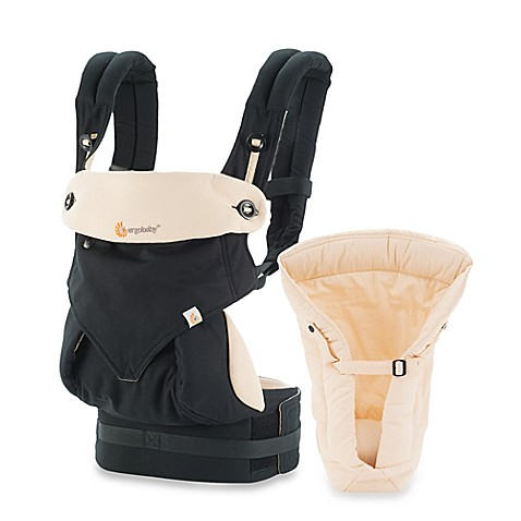 Ergobaby™ Four-Position 360 Carrier Bundle of Joy Baby Carrier in Black/Camel