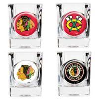 NHL Chicago Blackhawks Collector's Shot Glasses (Set of 4)