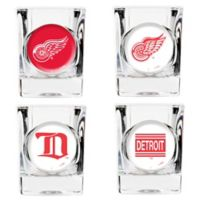 NHL Detroit Red Wings Collector's Shot Glasses (Set of 4)