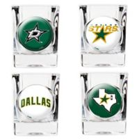 NHL Dallas Stars Collector's Shot Glasses (Set of 4)