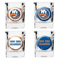 NHL New York Islanders Collector's Shot Glasses (Set of 4)