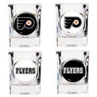 NHL Philadelphia Flyers Collector's Shot Glasses (Set of 4)