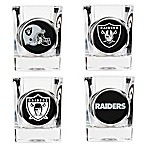 NFL Oakland Raiders Collector's Shot Glasses (Set of 4)
