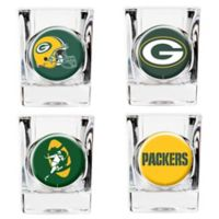 NFL Green Bay Packers Collector's Shot Glasses (Set of 4)
