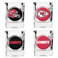 NFL Kanas City Chiefs Collector's Shot Glasses (Set of 4)