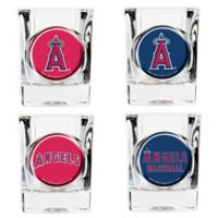 MLB Los Angeles Angels Collector's Shot Glasses (Set of 4)
