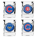 MLB Chicago Cubs Collector's Shot Glasses (Set of 4)