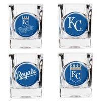 MLB Kansas City Royals Collector's Shot Glasses (Set of 4)
