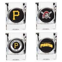 MLB Pittsburgh Pirates Collector's Shot Glasses (Set of 4)