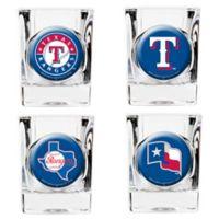 MLB Texas Rangers Collector's Shot Glasses (Set of 4)