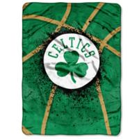 NBA Boston Celtics Shadow Play Raschel Oversized Throw Blanket
