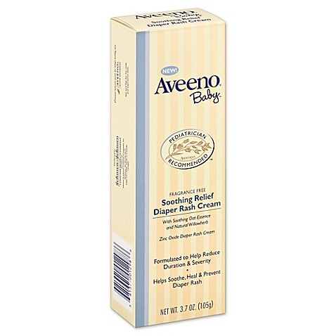 Aveeno soothing relief diaper rash cream