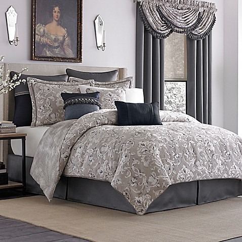 Croscill 174 Natalia Reversible Comforter Set Bed Bath Amp Beyond