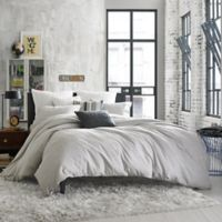 Kenneth Cole Reaction Home Elements Reversible King Duvet Cover in Grey Mist