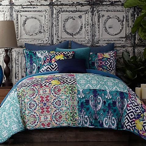tracy porter® poetic wanderlust® florabella comforter set in teal