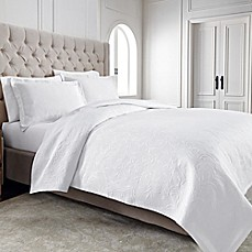 Wamsutta® Filigree Coverlet in White