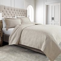 Wamsutta® Filigree Twin Coverlet in Khaki