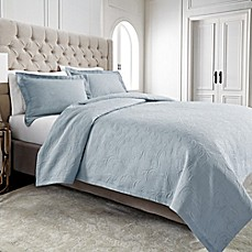 Wamsutta® Filigree Coverlet in Blue