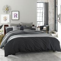 Kenneth Cole Reaction Home Fusion Twin Bed Skirt in Indigo