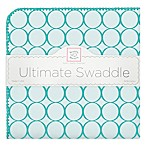 Swaddle Designs® Mod Circles Ultimate Swaddle in Turquoise