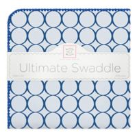 Swaddle Designs® Mod Circles Ultimate Swaddle in Blue