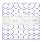 SwaddleDesigns® Mod Circles Ultimate Swaddle in Lavender